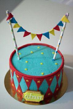 Gâteau aux Fanions par Dame Théière