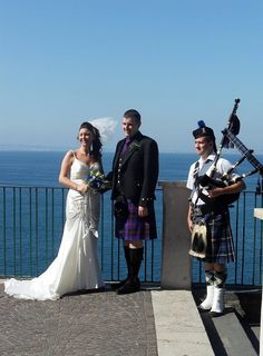 Piper for your wedding in Italy.........  www.symbolicunionsitaly.com