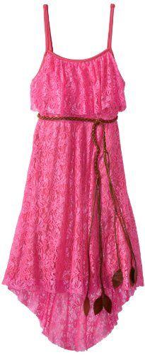 Rare Editions Girls 7-16 Lace Hi-Low Dress, Neon Pink, 12 Rare Editions,http://www.amazon.com/dp/B00CN4Z92K/ref=cm_sw_r_pi_dp_9kV0rb03B8BP2164 - size 12 a 16 - 34$ - ale