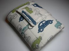 Vintage Cars and Minky Travel Diaper by BabblesBubblesBows on Etsy, $25.00