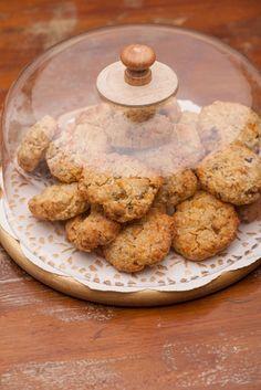 Receita de Biscoito Baunilhado de Aveia. Confira e experimente as sugestões! Torne seu dia-a-dia mais saudável e ainda, mais saboroso!