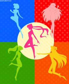Sailor Moon and Scouts Color Profiles. #moon #scouts #sailor