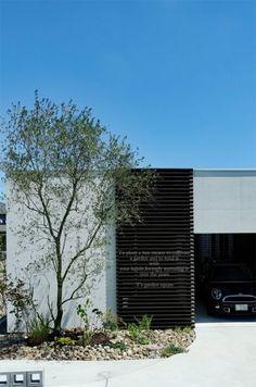 シンボルツリーにシルバーリーフの常緑樹 オリーブを。店舗にもよく合う オリーブの成長木。 外構の設計で困っていらっしゃる設計士の方。 是非 ご相談ください。 Courtyard House, Concrete Design, Garden Trees, Plant Design, Architect Design, Green Plants, Landscape Architecture, Interior And Exterior, New Homes