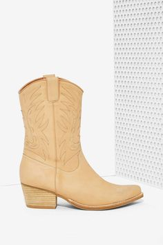 Jeffrey Campbell Plano Leather Boots