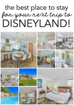 The best place to stay for your next trip to Disneyland! It was cheaper than most hotels, and we each had our own bedroom!