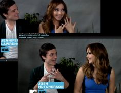 This one was by far my favorite interview because they talked about being excited to get married! haha http://www.mtv.com/videos/movies/730393/jennifer-lawrence-excited-for-catching-fire-marriage.jhtml#id=1678362