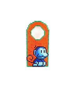 Nintendo Monkey Hama Door Hanger Free Shipping Everywhere. £8.00, via Etsy.