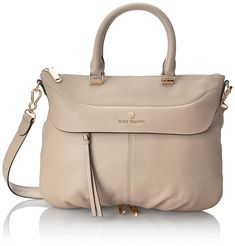(This is an affiliate pin) Vince Camuto Dean Satchel Stylish Handbags, Cheap Handbags, Purses And Handbags, Quilted Handbags, Leather Handbags, Dean, Luxury Bags, Medium Bags, Online Bags