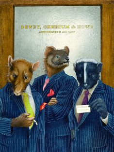 Will Bullas - Dewey, Cheatham and Howe, attorneys, aka rat, weasel and skunk