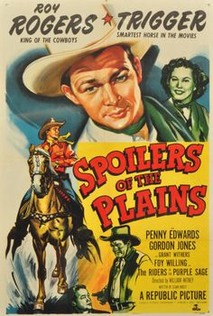 Old Western Movie Posters | Roy Rogers and Dale Evans Museum final auction will be held on April 9