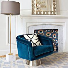 """5,027 Likes, 50 Comments - Jonathan Adler (@jonathanadler) on Instagram: """"Don't sit out this deal: our Bacharach Swivel Chairs are $1000 off, but only until MIDNIGHT PT.…"""""""