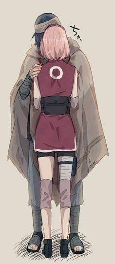 Sasuke and Sakura #Naruto