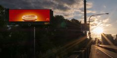 Mc Donalds sunrise