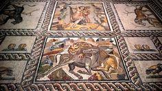 Mosaic: Roman Italy.Museo Nazionale Archeologico di Taranto, Puglia