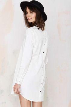 white tshirt dress - Google Search
