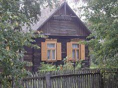 Kurpie, Kurpiowszczyzna, architektura drewniana, drewniane domy, Ostrołęka, Puszcza Biała, Puszcza Zielona, windows