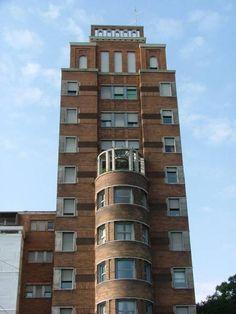 Brick Facade, Gio Ponti, Milan Italy, Willis Tower, Palazzo, Modern Architecture, Art Deco, House Design, Milano