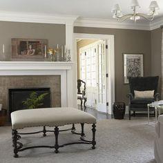 Ashley Grey (HC-87) walls, Ivory white 925 trim