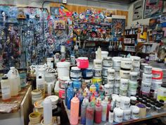 Art Studio of Skip Measelle