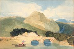 John Sell Cotman (1782-1842) - Tan-y-Bwlch