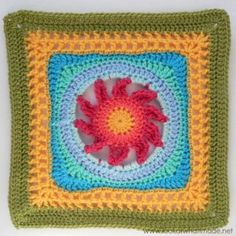 Lookatwhatimade Blooming Lace Crochet Square Melinda Miller 300x300 Block a Week CAL 2014