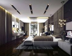 174 Modern Bedrooms With Amazing Wall Decors