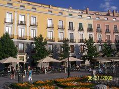 Cafe de Oriente Madrid, one of my fav spots to people watch!