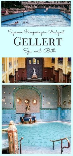 Supreme Pampering in Budapest Gellert Spa and Bath. Have you been to Hungary and explored the beautiful city of Budapest? If you have, I hope you went to one of the baths. Click here to read more about our experience! ~ReflectionsEnroute: