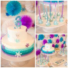 Frozen Birthday Party via Kara's Party Ideas   KarasPartyIdeas.com (3)