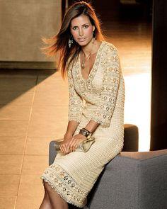 Crochet Dress    custom made hand made crochet  by Irenastyle, $589.00