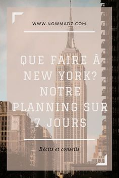 What to do in New York? Our advice to visit New York in 7 days - Bullet Journal September, Flatiron Building, Washington Square Park, Ellis Island, Floride Miami, Guide New York, Hiking Club, Lake George Village, Voyage New York