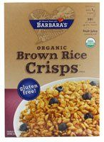 Barbaras Bakery Organic Brown Rice Crisps Cereal  10 oz -- Want to know more, click on the image.