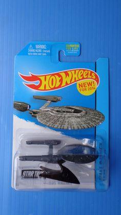 Hot Wheels 2014 Star Trek U.S.S. Vengeance  Hw City - Hot - RARE !!!!!