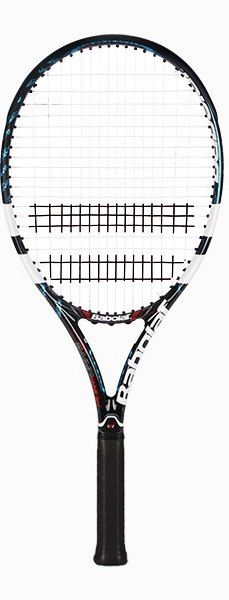 This junior sized version of Andy Roddick's racquet (Roddick actually plays with the Plus inch long adult version) is stiffer and heavier than previous Pure Drive junior racquets Andy Roddick, Rackets, Tennis Racket, Plays, Games
