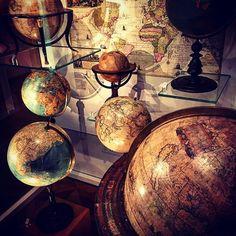 #globemuseum #vienna #globes #geography #nerdheaven Vintage Globe, Globes, Vienna, Geography, Austria, Places To Go, Heaven, Museum, Instagram Posts