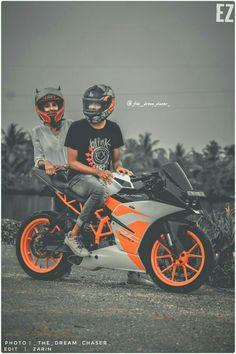 Duke Motorcycle, Duke Bike, Motorcycle Couple, Ktm Duke, Cute Couple Cartoon, Cute Love Cartoons, Biker Love, Biker Girl, Biker Photoshoot