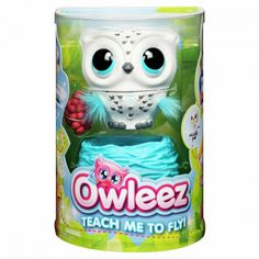 Interactive Flying Pet Toy: I'm Owleez, the interactive baby owl toy that can REALLY fly, but I need your help! Can you teach me? The more we practice flying to Flying The Nest, Flying With A Baby, Flying Together, Uk Deals, Learn To Fly, Interactive Toys, Top Toys, Bettering Myself, Make Happy