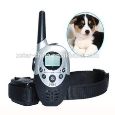 Safety Remote Control Electronic Dog Training Collar support 2 receivers control 2 dogs
