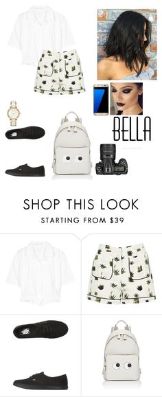 """""""Untitled #634"""" by luisa-gab ❤ liked on Polyvore featuring Victoria Beckham, Topshop, Vans, Anya Hindmarch, Michael Kors, Samsung and Nikon"""