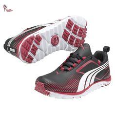 Puma , Chaussures de golf pour homme NOIR/FUSHIA/BLANC 8 - Chaussures puma (*Partner-Link)