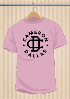 Camiseta Cameron Dallas #MagCon #T-Shirt #Tee #Art #Design con envío #gratis sólo en www.UppStudio.com