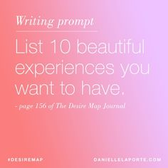 Write your truth, right now. The Desire Map Journal is 50% off in my shop. Get it at DanielleLaPorte.com/Shop #desiremap