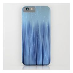 Winter Blues iPhone 6s Case (€31) ❤ liked on Polyvore featuring accessories, tech accessories, phone cases, phones, tech and iphone & ipod cases