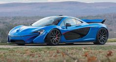 This Blue McLaren P1 Is The Most Expensive Ever