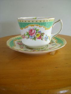 Foley Tea Cup & Saucer