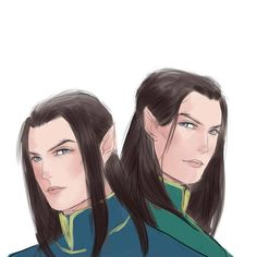 Элладан и Элрохир   The twins Elladan & Elrohir