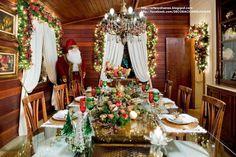 Decorar la Mesa del Comedor para Navidad.