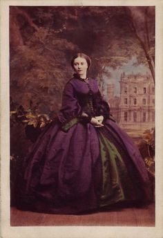 Princess Victoria ca. 1858, Queen Victoria's eldest daughter