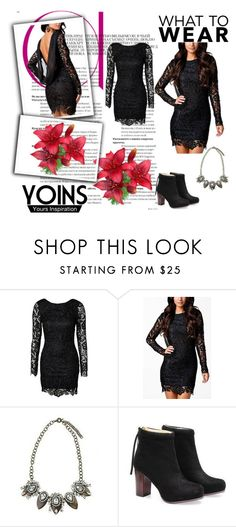 """YOINS 8"" by lejla-cergic ❤ liked on Polyvore featuring polyvoreeditorial and yoins"