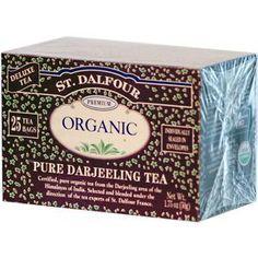 St. Dalfour, Pure Darjeeling Tea, 25 Tea Bags, 1.75 oz (50 g)